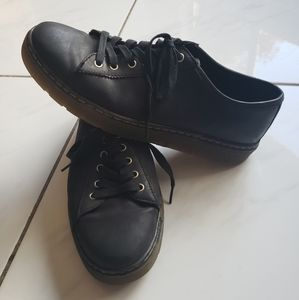Dr Marten Air Wair Farrell Leather Oxford Shoes